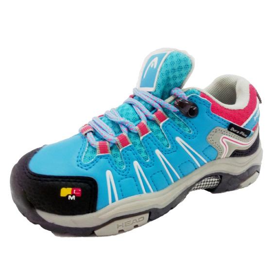 Outdoor Fotwear Junior Blue Gray Pink