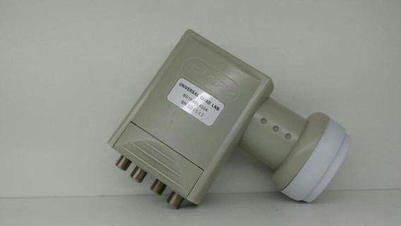 * Lnb Original Sharp Com 4 Saidas Universal Ku Sn:004520