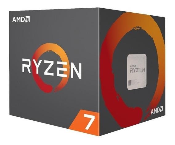 Micro Procesador Amd Ryzen 7 2700x 3.7 Ghz