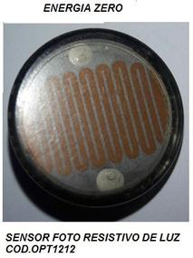 Sensor Opto Resistivo Luz Cod.opt1212 Frete Cr