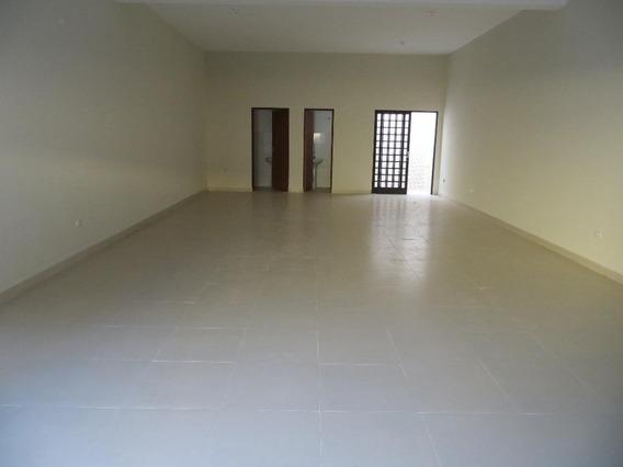 Salão Comercial Para Locação, Santa Cruz, São Pedro. - Sl0187