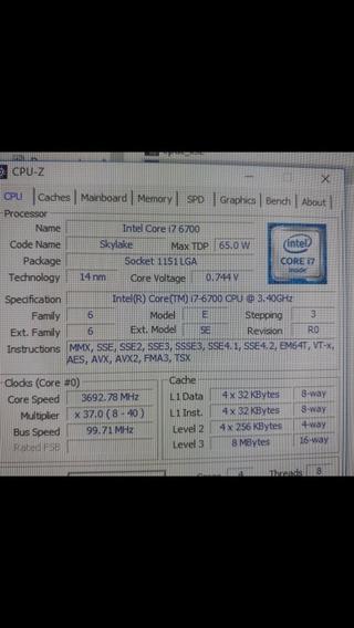 Kit I7 6700 Placa Mãe B250m 12gb De Memoria Ram