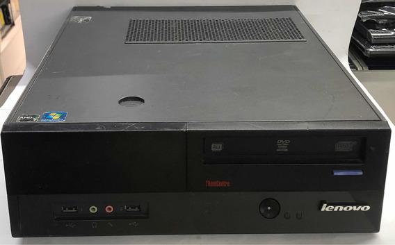 Desktop Lenovo Thinkcentre A62 Athlon X2 2gb Hd 160gb