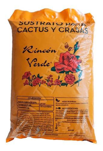 Sustrato Premium Para Cactus Crasas Suculentas Bolsa 5dm3