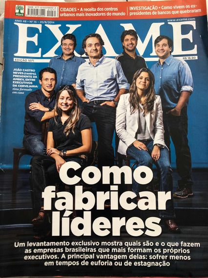 Revista Exame - Como Fabricar Líderes