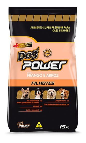 Ração Dog Power Filhotes 15 Kg - Super Premium - Por