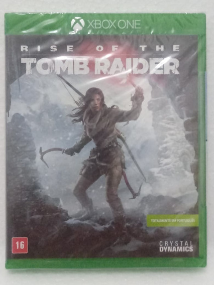 Rise Of The Tomb Raider (novo E Lacrado) Xbox One