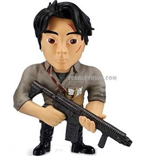 The Walking Dead Glenn Figura Metals 4 Pulgadas Diecast Jada