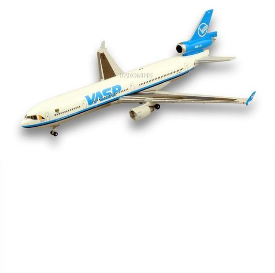 Miniatura Avião Vasp Md-11 1/400 Gemini Jets
