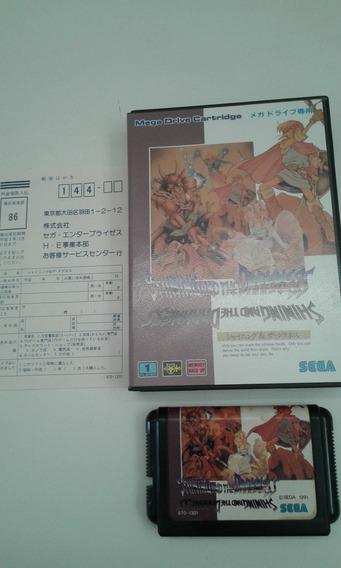 Jogo Mega Drive Shinning And The Darkness Original Completo