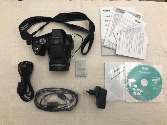 Câmera Coolpix P510 Completa ( Leia A Descrição )