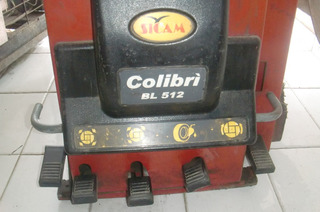 Desmontadora De Llanta Auto Sicam Colibri Bl-512 Semiautom.
