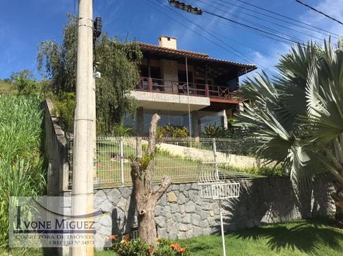 Imagem 1 de 15 de Casa Em Portal Das Mansões  -  Miguel Pereira - 3262