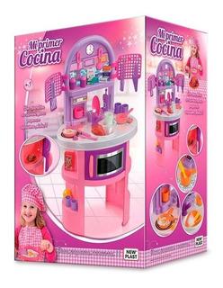 Cocina Infantil Para Niñas, Mi Primer Cocina, New Plast