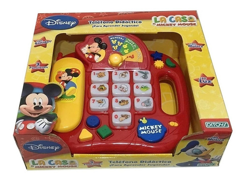 Telefono Didactico Mickey Club House (4949)