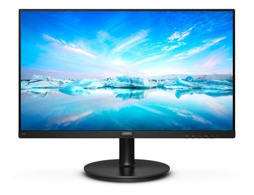 "Monitor gamer Philips V 242V8A led 24"" preto 100V/240V"