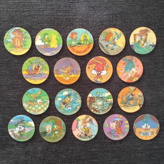 18 Tazos Tiny Toon ( Sem Repetições )