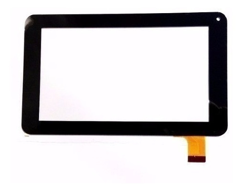 Tela Vidro Touch Tablet Dl Work Tp292 Bep Preto 7 Polegadas