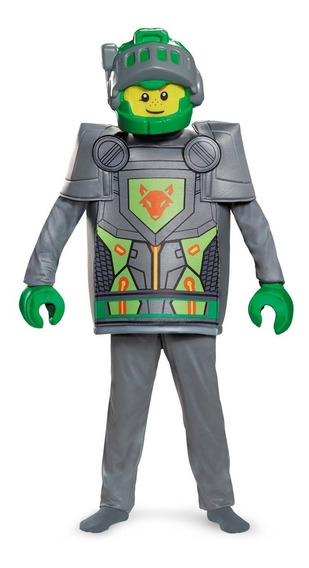 Disfraz De Aaron Lego Nexo Knights Talla 7/8 Niños