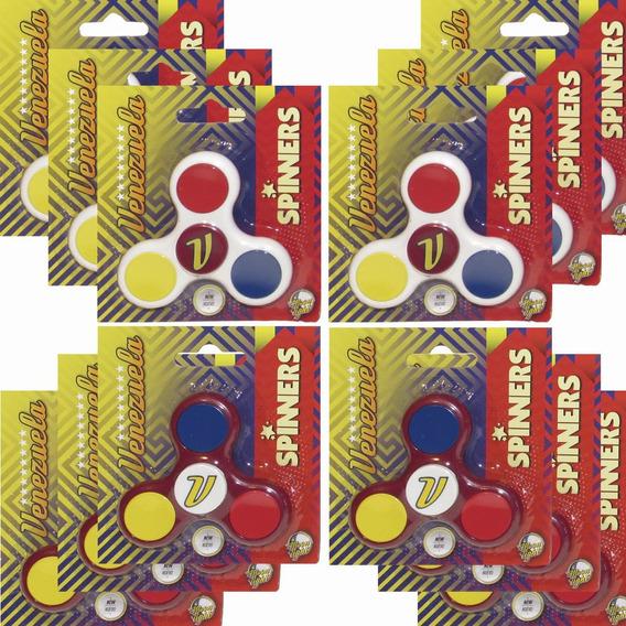 Moonlight Fidget Spinner Venezuela. Doble Six Pack 12 Unid.