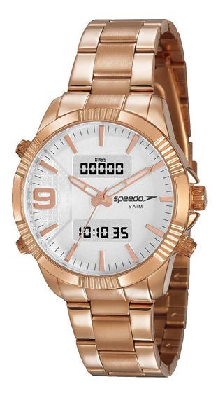 Relógio Speedo Feminino 15014lpevre2 Rosê Digital Ana Digi