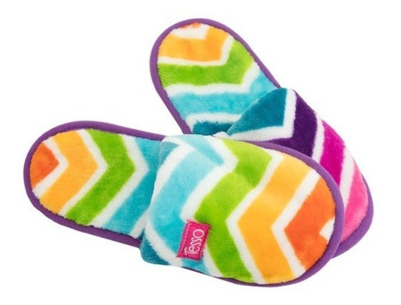 Pantuflas Colores Chicas No. 2/3