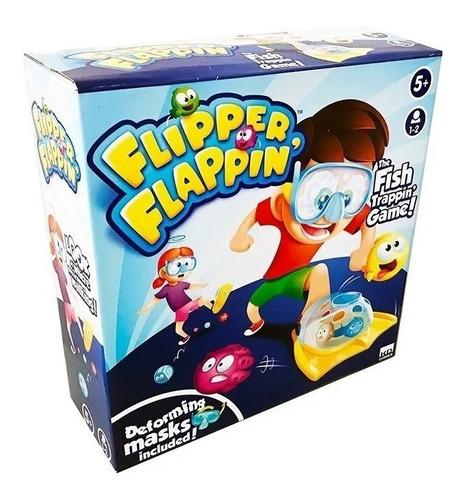 Juego Flipper Flappin Atrapa Peces Original