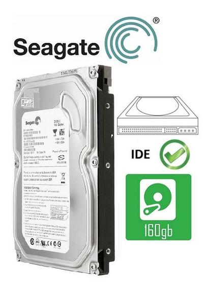 Lote 5 Discos Rigidos 160 Gb Ide Seagate Garantia 12 Meses Perfecto Estado Y Funcionamiento!!