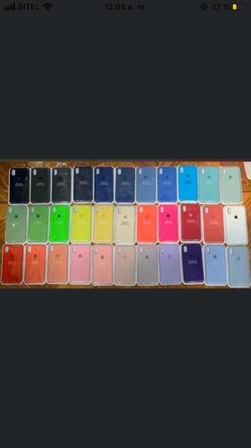 Case Silicona iPhone XS/xs Max/xr 11/11pro/max + Mica Vidrio