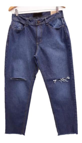 Pantalon Jeans Mom Boyfriend Retro Vintage Rigido Envíos