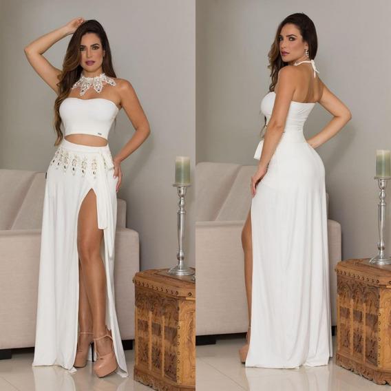 Vestido Paula Melo Original Estilo M.gueixa Ref 21326