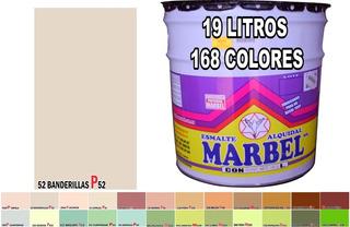 Pintura Esmalte Alquidálico (aceite) 19 Lts 168 Colores