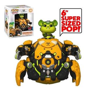 Funko Pop 488 Overwatch 6 Txc Wrecking Ball Cconny