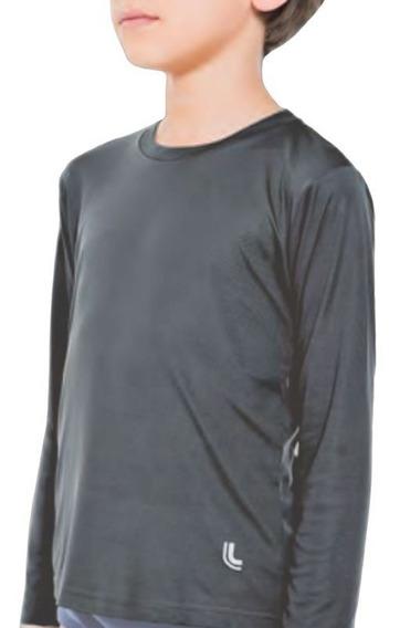 Blusa Camiseta Infantil Proteção Uv Repelente Lupo