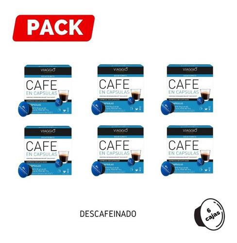 Pack 6 Cajas Café Descafeinado Para Dolce Gusto