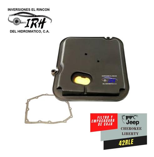 Filtro Y Empacadura Jeep Cherokee Liberty Kj / Kk Caja 42rle