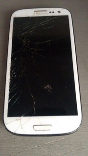 Galaxy S3 Com Display Queimado P/ Retirada De Peças
