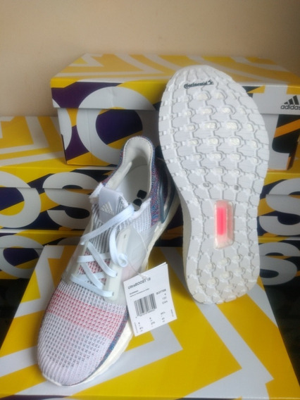 Tênis adidas Ultraboost 19 Tam 41 White Ftwr Corrida/academy
