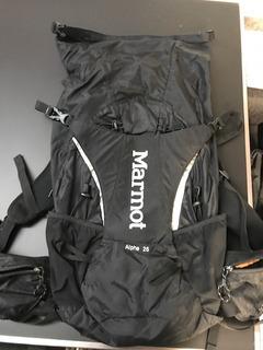 Mochila Marmot Alpha 25 Backpack Montaña