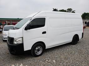 Nissan Urvan Panel Amplia Diesel Paq Seg 2014