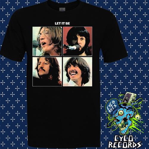 Imagen 1 de 2 de The Beatles - Let It Be - Rock - Polera- Cyco Records