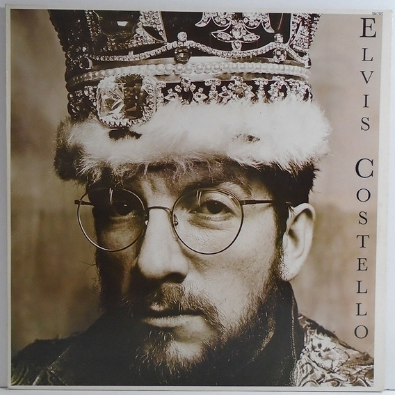 Elvis Costello 1986 King Of America Lp Com Encarte Lovable
