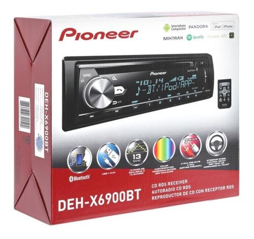 Estereo Auto Pioneer Deh 6900 Cd Bluetooth Spotify Colocado