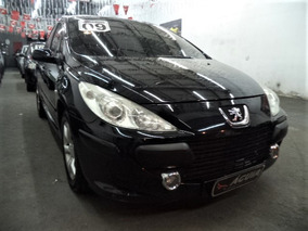 Peugeot 307 1.6 Flex 2009 - Completo + Teto + Airbags + Mp3!