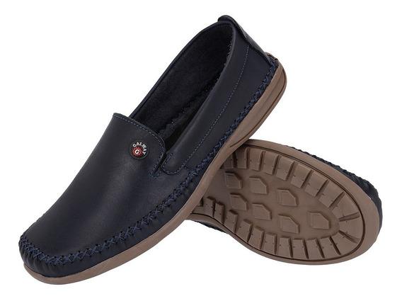 Sapato Sapatilha Masculina Mocassim Dockside Couro Galway 760-5