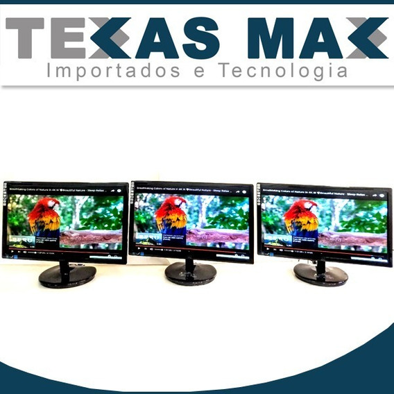 Lote 3 Monitores Aoc 22 Polegadas E2243wf Vl.unitário 499,00