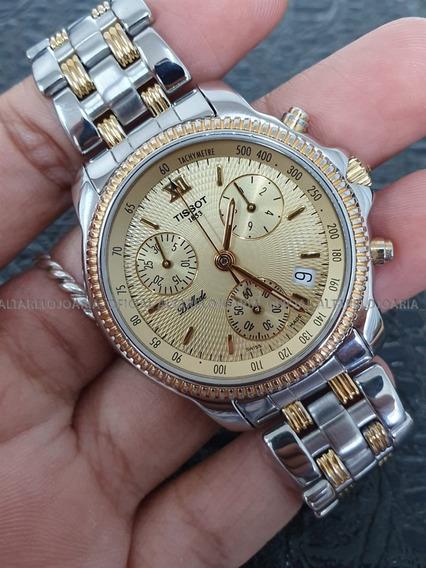 Relógio Tissot Ballade Swiss Made Cronógrafo Calendário