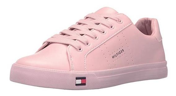 Tenis Para Dama Tommy Hilfiger Luster Color Rosa