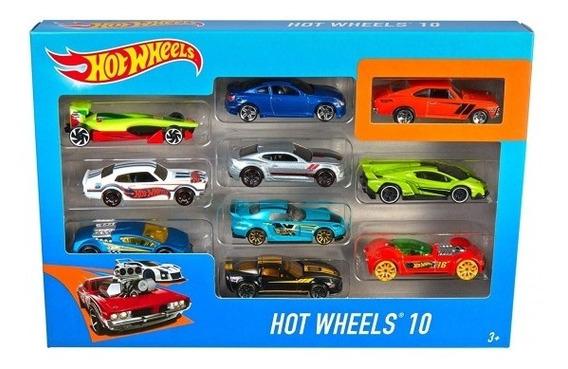 Hot Wheels Pack X 10 Autos