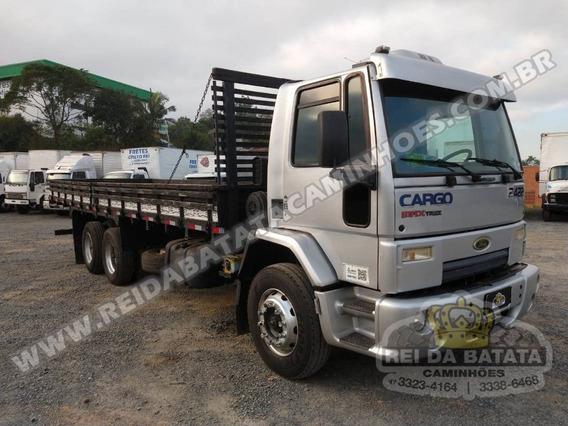 Ford Cargo 2422 Truck Carroceria Com Ar Condicionado 2011 !